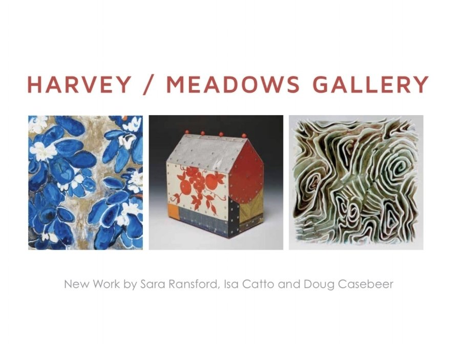 isa catto art at harvey/meadows gallery