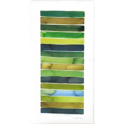 green earth tone horizontal stripes
