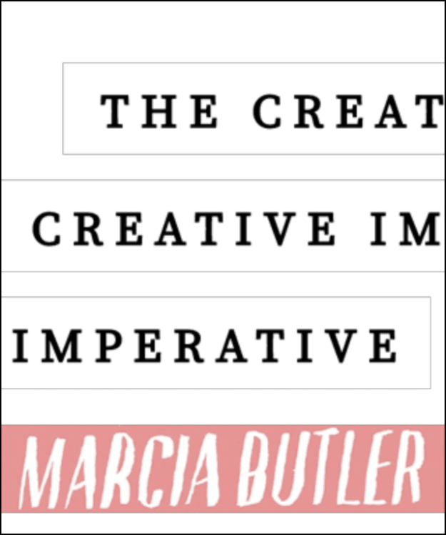 marcia butler the creative imperative youtube channel