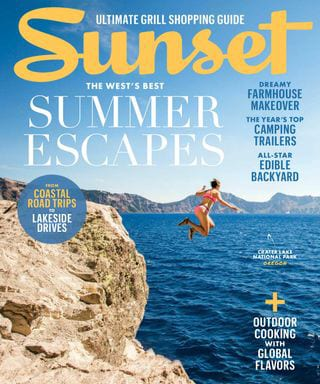 Sunset magazine summer escapes cover