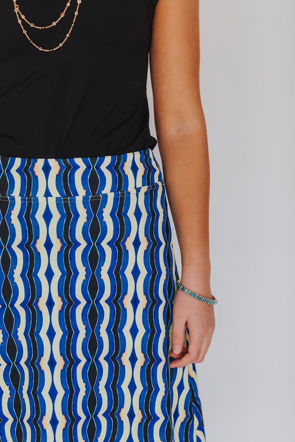 berber pattern skirt