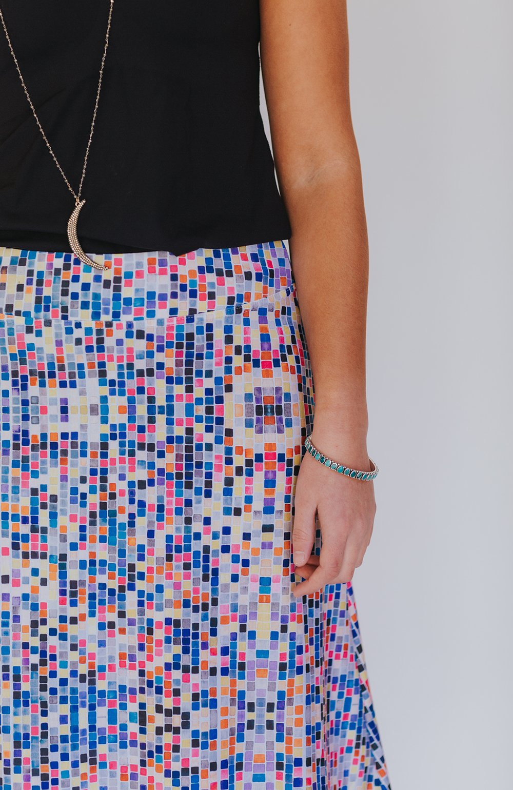 euler pattern skirt