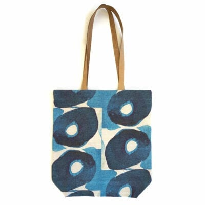 Indigo Olives Tote Bag